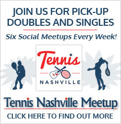 Tennis Nashville Meetup